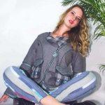 Charcoal wool jacket - Loom Art