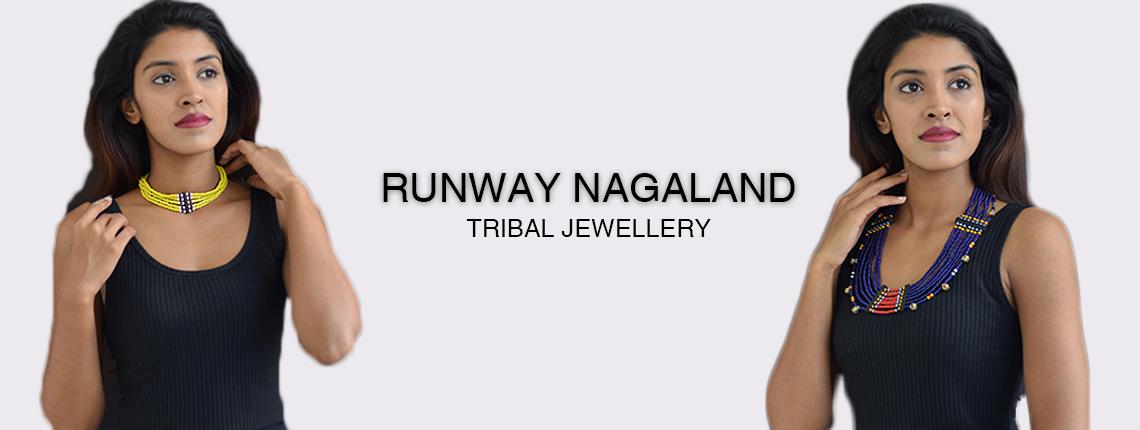 Tribal Naga Jewellery Runway Nagaland